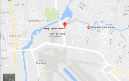 Pasay City Post Office address and map