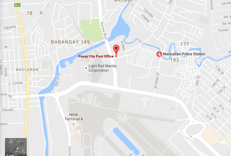 pasay-city-post-office-map