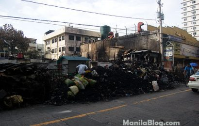 Slum Area in Ortigas Burned
