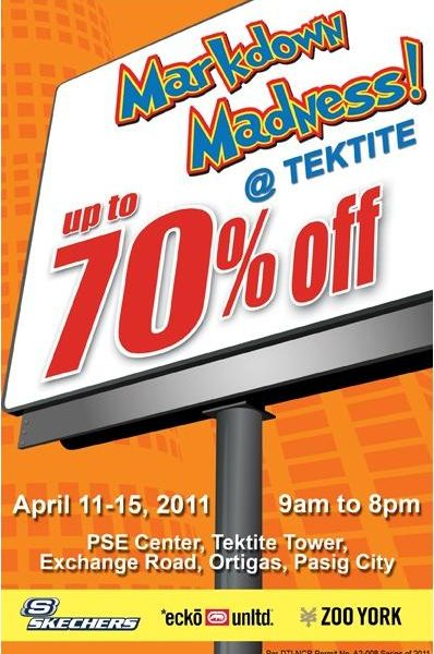 Markdown Madness at Tektite!